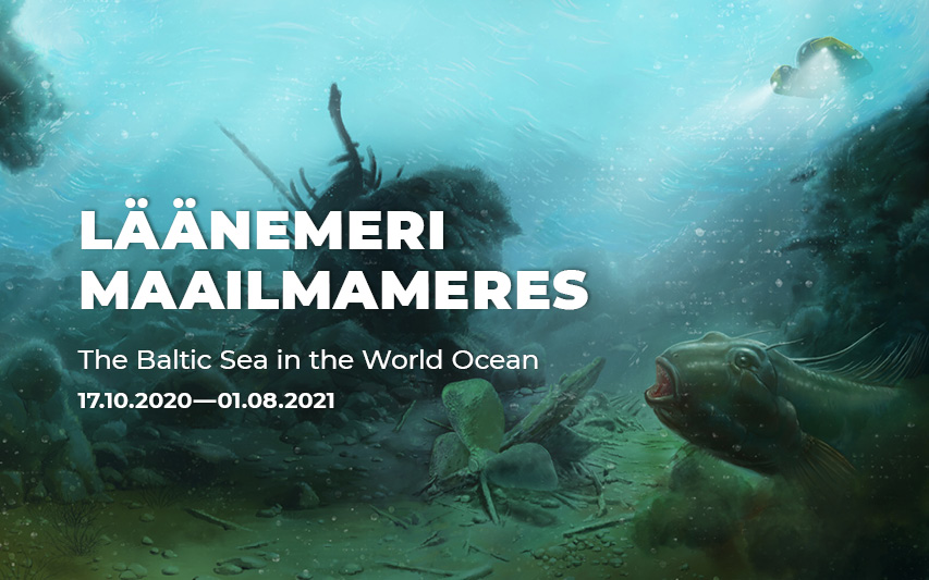 "Näitus ""Läänemeri maailmameres"" pikeneb kuni 1.8.2021"
