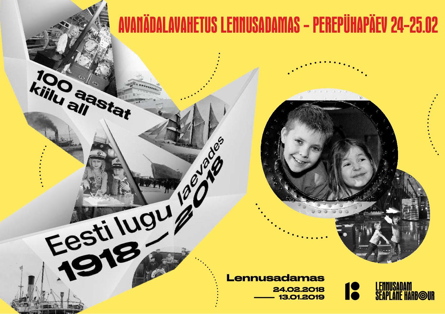 PERENÄDALAVAHETUS LENNUSADAMAS 24-25.02 – PALJU ÕNNE EESTI VABARIIK!